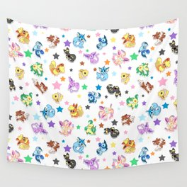 Cuties In The Stars Wall Tapestry