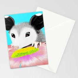 Blossom the Opossum Stationery Cards