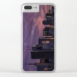 Summer in the 6ix Clear iPhone Case