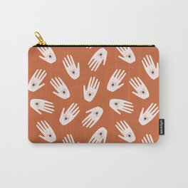 See Hold Love | Terracotta & Pink Carry-All Pouch