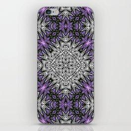 Purple Tribal iPhone Skin