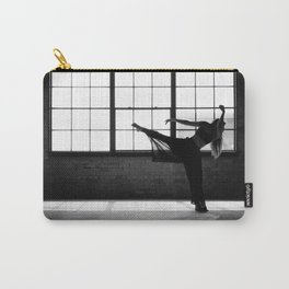 Ballet Dancer Silhouette Carry-All Pouch