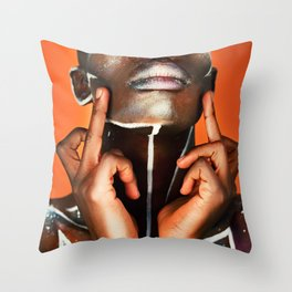 F*ck the world. Throw Pillow