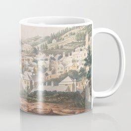 Vintage Pictorial Map of St George (1816) Coffee Mug