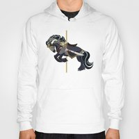 thorin Hoodies featuring Thorin, Carousel Pony by MarieJacquelyn