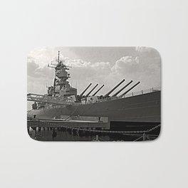 USS Wisconsin (BB-64) Bath Mat
