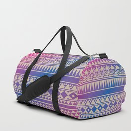 Aztec Pattern No. 15 Duffle Bag