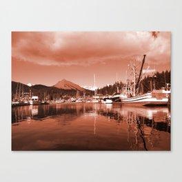 Docks Canvas Print