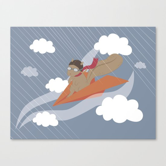 The Flying Squirrel Canvas Print