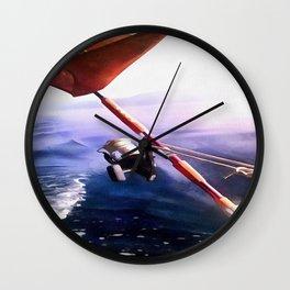 It's Reel - Gone Fishing Wall Clock