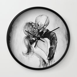 Dead to Me Wall Clock