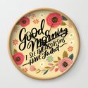 Pretty Not-So-Sweary: Good Morning I See the Assassins Have Failed by cynthiaf
