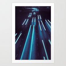 75(glow)2 Art Print