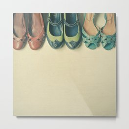 The Shoe Collection Metal Print