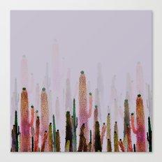 cactus water color colors Canvas Print