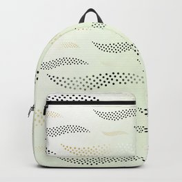 Waves / Tiger (stylized pattern) 30 Backpack