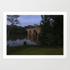 Rappahannoch River Art Print