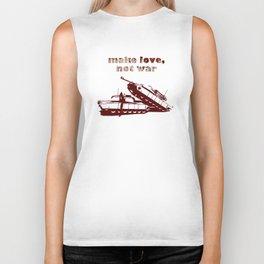 Make love, not war! Biker Tank