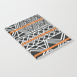 Tribal ethnic geometric pattern 022 Notebook