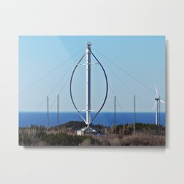 Giant Windmill Metal Print