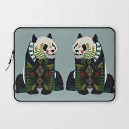 panda silver Laptop Sleeve