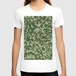 Military Jungle Green Camouflage T-shirt