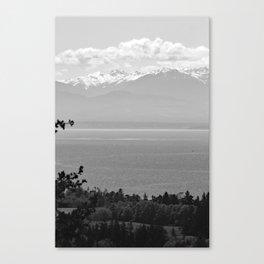 Mountain Views at Deception Pass State Park Canvas Print