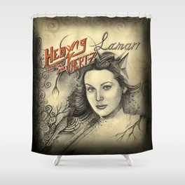 Hedwig and the angry Hertz Shower Curtain