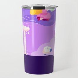 Tiny Worlds - Super Mario Bros. 2: Peach Travel Mug