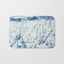 Blue Winter Bath Mat
