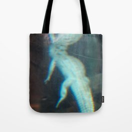 Albino Alligator 2 Tote Bag