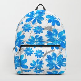 Twilight Leaves Tropical Backpack