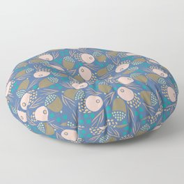 November Born - acorn pattern Floor Pillow