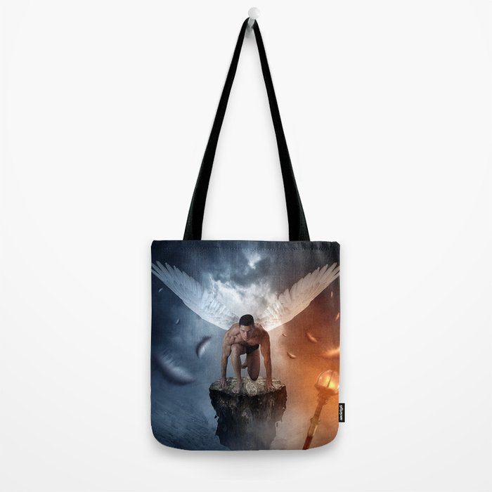 following the lights Tote Bag