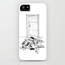 Island Life Series: House Party iPhone Case