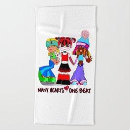 Beat Girlz Beach Towel