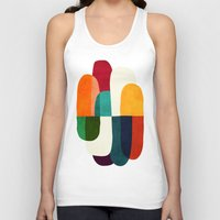 the cure Tank Tops featuring The Cure For Sleep by Picomodi