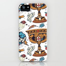 Middle age iPhone Case