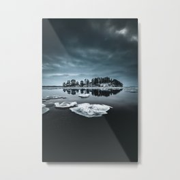 Only pieces left Metal Print