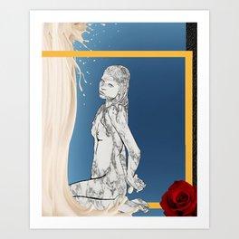 Venus in Milk Art Print