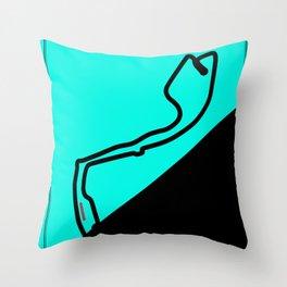 Monte Carlo, Monaco, Racetrack Throw Pillow