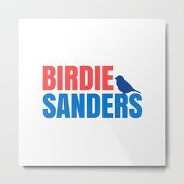 BIRDIE SANDERS 2020 BIRD Metal Print