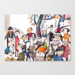 the teacher Canvas Print