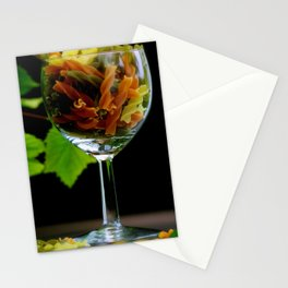 Tricolor Pasta Stationery Cards