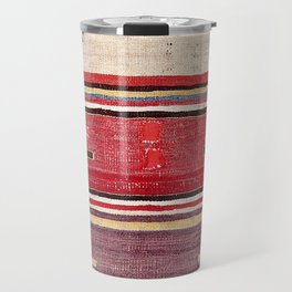 Nevsehir Cappadocian Central Anatolian Kilim Print Travel Mug