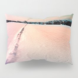 The field and the village Pillow Sham