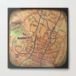 Dream Big Austin Metal Print
