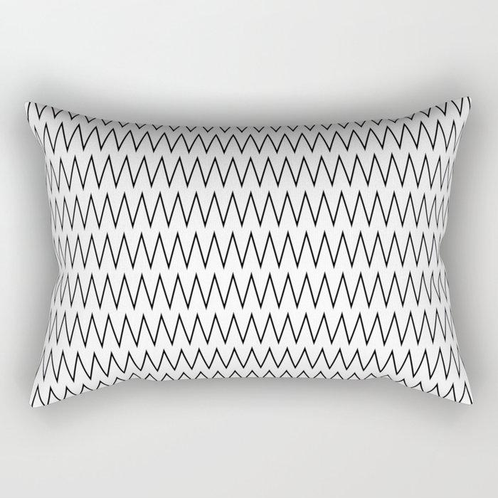 Minimalist Chevron Rectangular Pillow