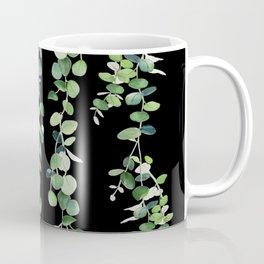Eucalyptus Sur Fond Noir Coffee Mug