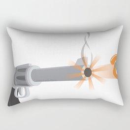 bullet eye Rectangular Pillow